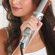 Rotating Hair Straightener and Curler