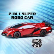2 in 1 Super Robo Car