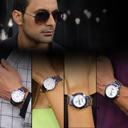 4 Watches with Free Aviators