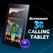Lenovo Essential 3G Calling Tablet