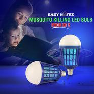 Easy Homz Mosquito Killing LED Bulb - Pack of 2