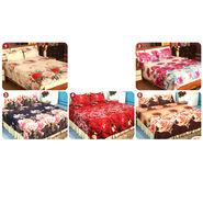 Phoolon Ki Duniya - 5 Double Bedsheets (3D) (5BS21)