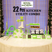 Royal Chef 22 Pcs Kitchen Utility Combo