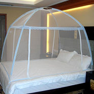 Unique Twist & Fold MOSQUITO NET For Double Bed