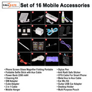 Set of 16 Mobile Accessories