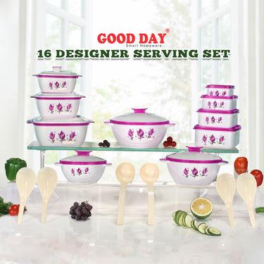 16 Designer Serving Set