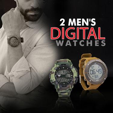 2 Men's Digital Watches