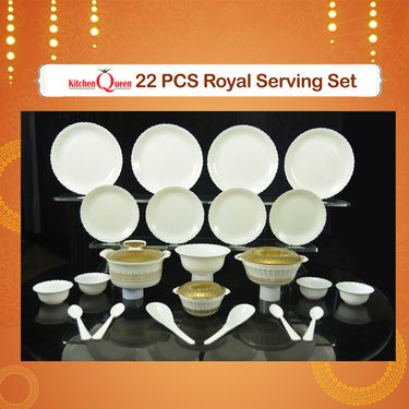 22 Pcs Royal Serving Set