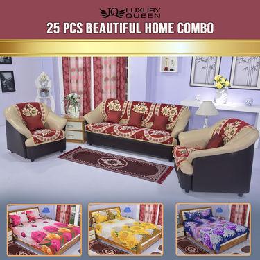 25 Pcs Beautiful Home Combo