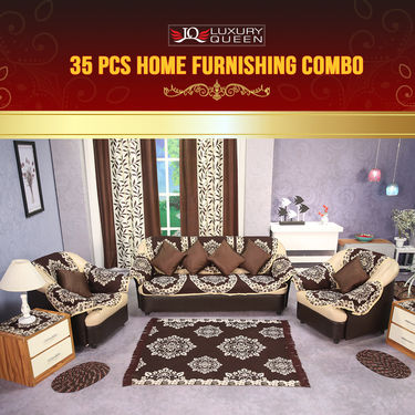 35 Pcs Home Furnishing Combo