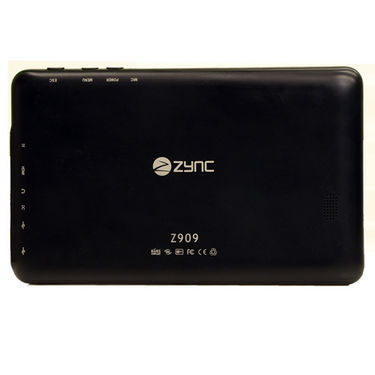 Combo of ZYNC Z909Plus (Touch Screen Pad:Camera:4GB Memory:Wi-Fi:Google Android OS) + USB Leather Case Keyboard + Pouch