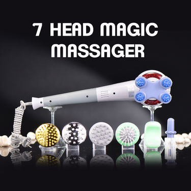 7 Head Magic Massager