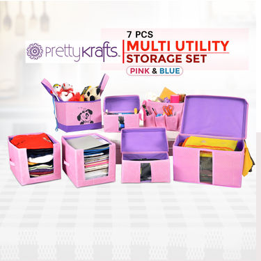 7 Pcs Multi Utility Storage Set