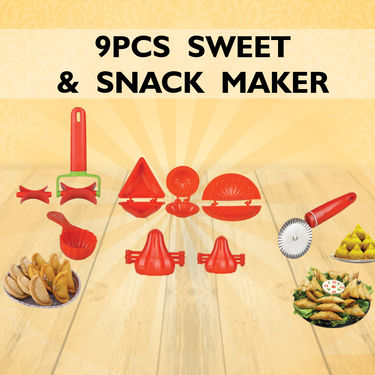 Royal Chef 9 Pcs Sweets & Snack Maker