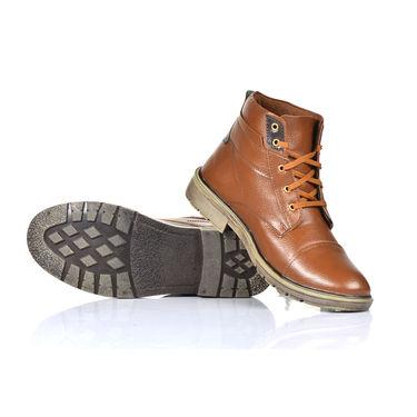 American Indigo Jacket + Boots - Brown