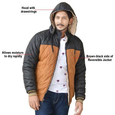 American Indigo Reversible Jacket For Men