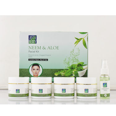 Astaberry Neem & Aloe Anti Acne Facial Kit