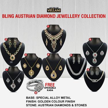 Bling Austrian Diamond Jewellery Collection