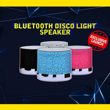 Bluetooth Disco Light Speaker