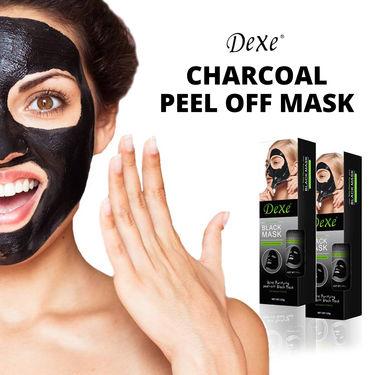 Dexe Charcoal Peel Off Mask
