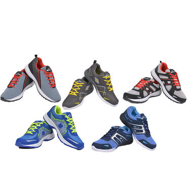 Doxter Assorted Pack of 2 Sports Shoes (A2SS1S)