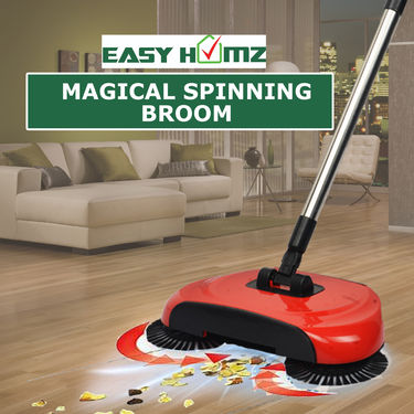 Easy Homz Magical Spinning Broom