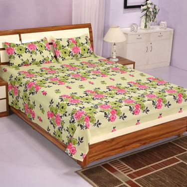 8 Bedsheet + 12 Pillow covers Maha combo (4DSBS15)