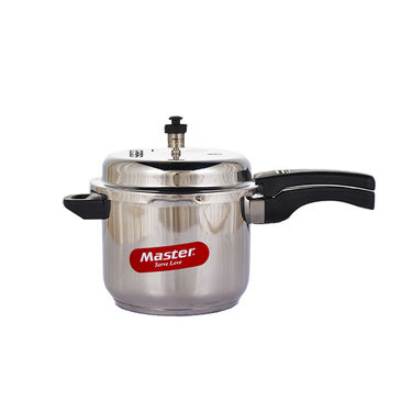 Master Stainless Steel 5Ltr & 3Ltr Pressure Cooker Combo with Idli Stand