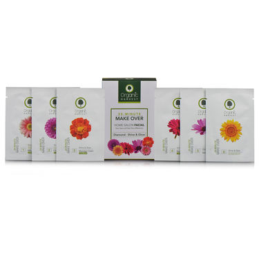 Organic Harvest 100% Diamond & Gold Organic Facial Kit