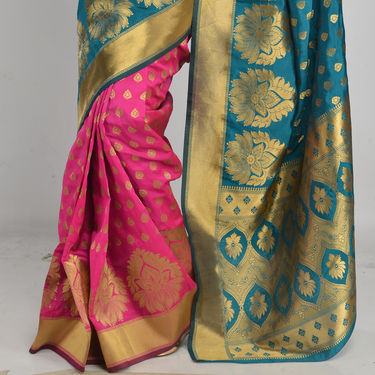 Pick Any One Kanjeevaram Silk Saree by Zuri (KSS8)