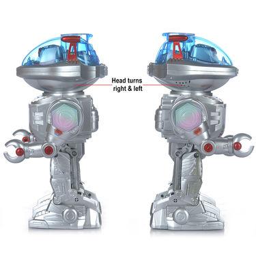 Remote Control Disc Shooting Dancing Robot
