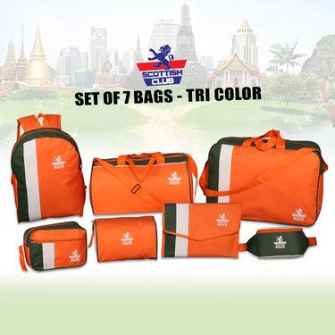 Scottish Club Set of 7 Bags - Tri Color