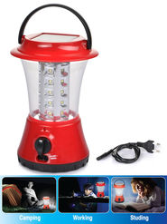 Sheffield Rechargeable LED Solar Lantern - New
